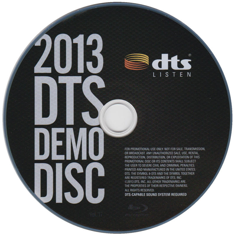 2013 DTS蓝光演示碟 Vol.19 2013 DTS Blu-Ray Demo Disc Vol.17
