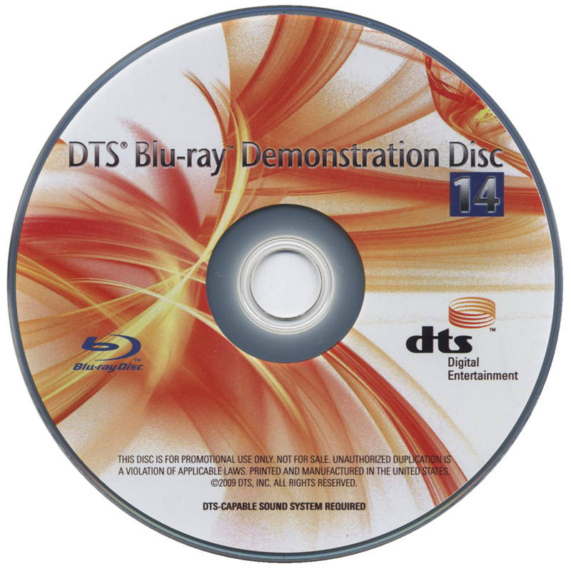 2010 DTS蓝光演示碟 Vol.14 DTS Blu-Ray Demonstration Disc 14